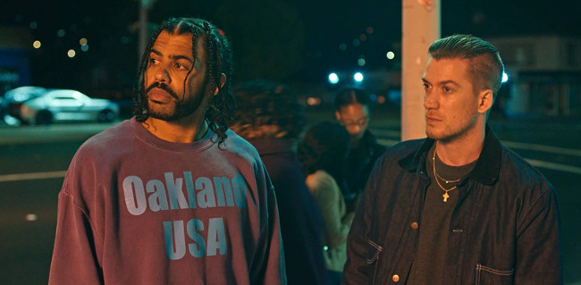 Daveed Diggs and Rafael Casal in Blindspotting