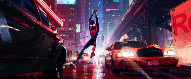 Shameik Moore in Spider-Man: Into the Spider-Verse