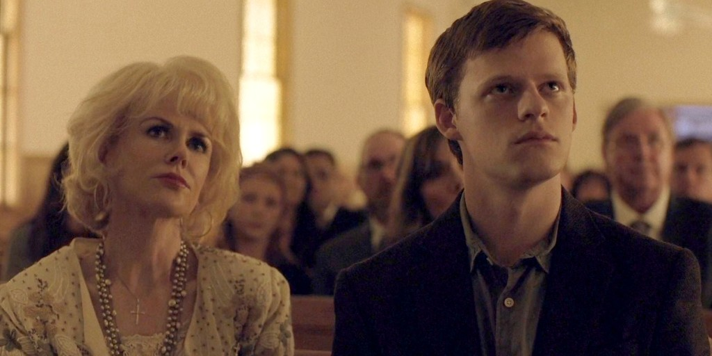 Nicole Kidman and Lucas Hedges in Boy Erased