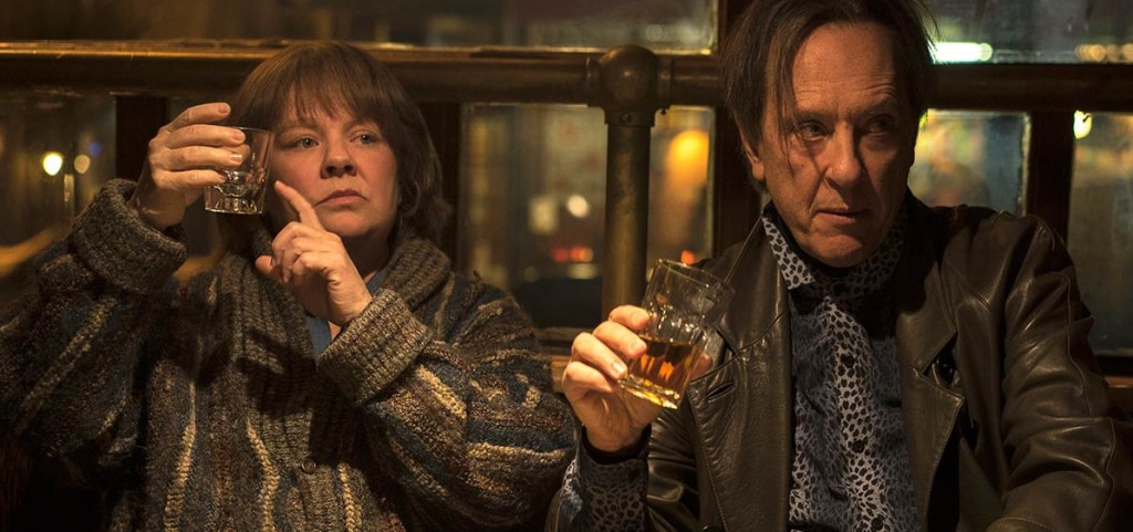 Melissa McCarthy and Richard E. Grant in Can You Ever Forgive Me