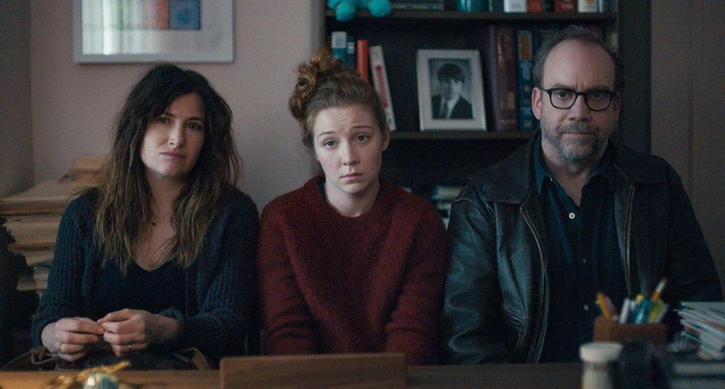 Kathryn Hahn, Kayli Carter and Paul Giamatti in Private Life