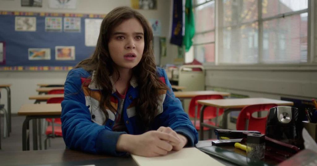 Hailee Steinfeld in The Edge of Seventeen