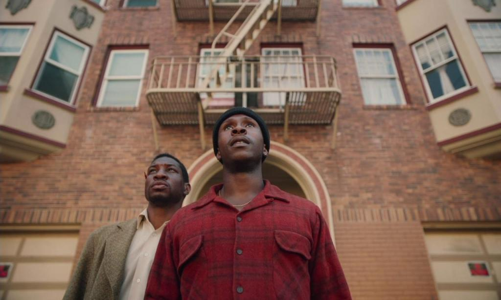 Jonathan Majors and Jimmie Fails in The Last Black Man in San Francisco