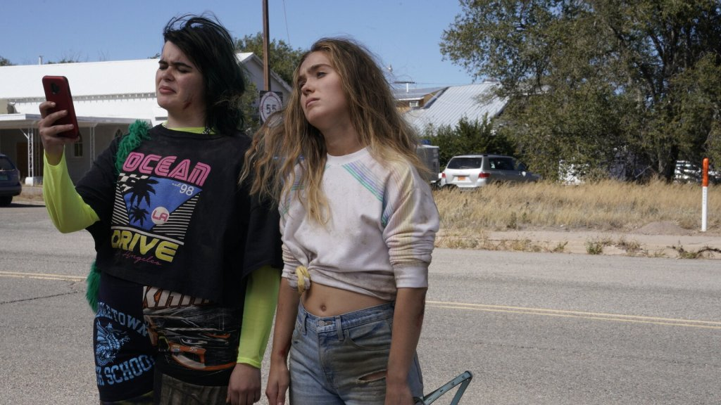 Barbie Ferreira and Haley Lu Richardson in Unpregnant