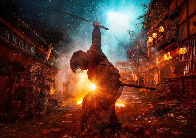 Takeru Satoh in Rurouni Kenshin The Final
